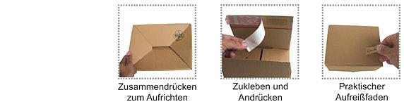 WepaBox - der flexible Versandkarton