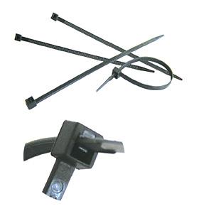 Kabelbinder transparent / natur