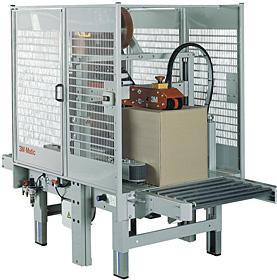 Verschließen von schmalen Kartons unterschiedlicher Größe: 3M-Matic™ 800r-I/E
