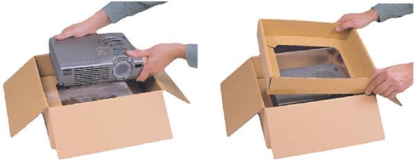Korrvu® Membranpolster-Verpackung