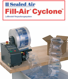 Luftpolstersysteme Fill-Air® Cyclone™