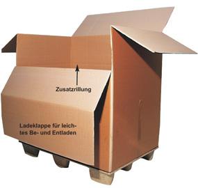 Paletten-Containerkartons