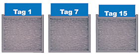 AirCap® Sperrschicht-Luftpolsterfolien