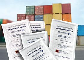 Container Dri® II – der Feuchtigkeitsschutz für Transporte rund um die Welt