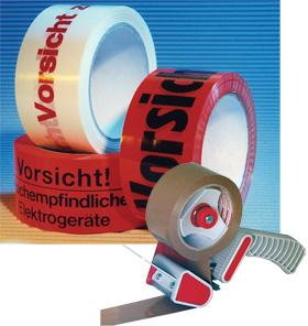 Warnbänder PP - für leichte Kartons
