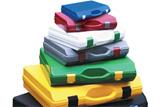Koffer und Einlagen